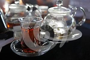 Traditional Turkish Tea Royalty Free Stock Photos - Image: 24702738