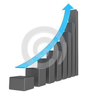 Graph. Royalty Free Stock Images - Image: 24705139