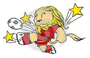 Soccer Leo Royalty Free Stock Image - Image: 24706156
