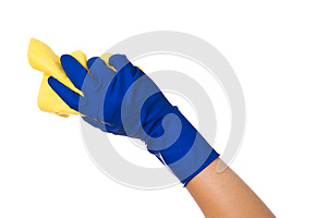 Hand Holding A Sponge Royalty Free Stock Images - Image: 24709079
