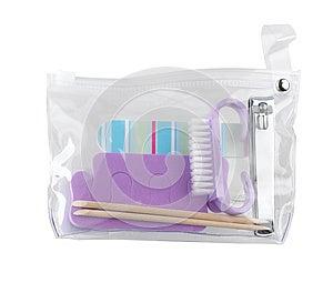Manicure Set Bag Royalty Free Stock Photography - Image: 24710837