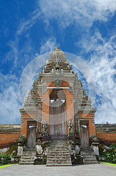 Entrance To Temple. Stock Images - Image: 24731644