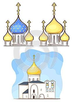 Igreja Do Russo Fotografia de Stock - Imagem: 24740712