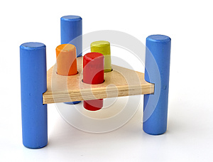 Wooden Toy Royalty Free Stock Image - Image: 24742776
