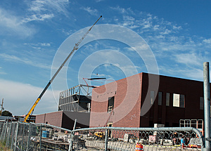 Construction Site Royalty Free Stock Image - Image: 24743496