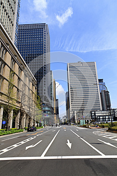 Tokyo CBD Royalty Free Stock Images - Image: 24745209