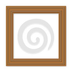 Antique Wooden Frames Stock Images - Image: 24757824