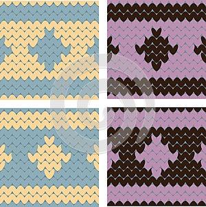 Knitting Imitation Royalty Free Stock Photos - Image: 24761458