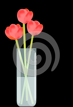 Flowers In Vase Royalty Free Stock Images - Image: 24761469
