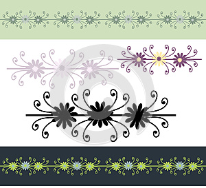 Ornamental Borders Royalty Free Stock Images - Image: 24761489