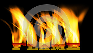 Flame Stock Images - Image: 24763474