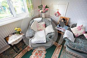 Empty Armchair Royalty Free Stock Photos - Image: 24768508