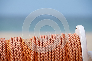Coil Of Rope Royalty Free Stock Photos - Image: 24787848