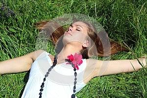 Sleeping Young Woman Stock Photography - Image: 24787932