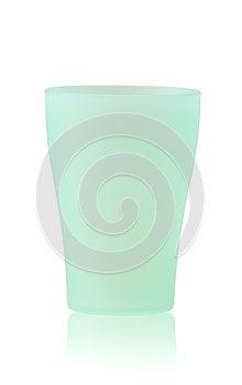Green Plastic Glass Stock Photo - Image: 24793970