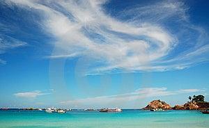 Beautiful island Free Stock Image