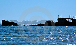 Sunken Ship Stock Images - Image: 2483014