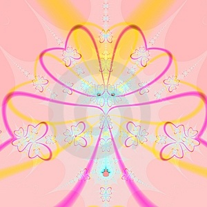 Happy Heart Abstract Royalty Free Stock Image - Image: 2486356