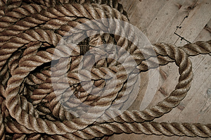 Nautical Rope Stock Photography - Image: 24806092