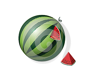 Watermelon Royalty Free Stock Images - Image: 24823469