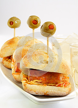 Sausage On Buns Royalty Free Stock Photography - Image: 24828797