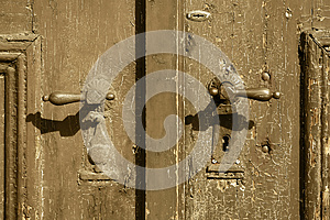 Old Door Handle Royalty Free Stock Photography - Image: 24829727