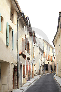 Streetview In The Provence Royalty Free Stock Photo - Image: 24829745