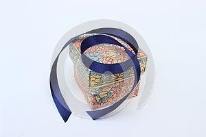 Box And Ribbon Royalty Free Stock Images - Image: 24833049