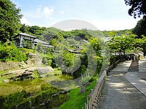 Kamakura's Temple Landscape Royalty Free Stock Photos - Image: 24833268