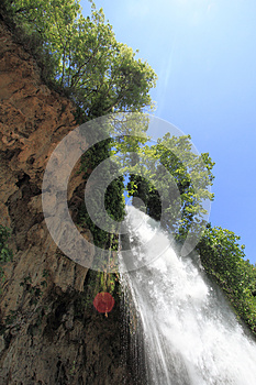 Natural Waterfall Stock Photos - Image: 24833763