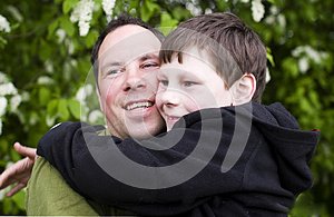 Father And Kid Love Royalty Free Stock Image - Image: 24834546