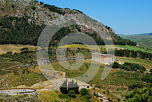 Segesta (Sicily) Stock Photos - Image: 24835413