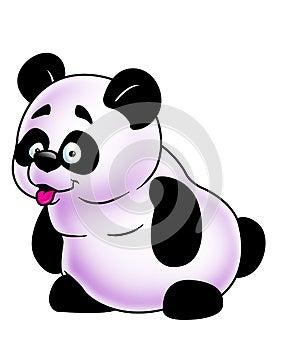 Funny Panda Royalty Free Stock Images - Image: 24840849