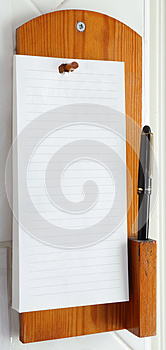 Telephone Note Pad Royalty Free Stock Image - Image: 24853776