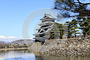 Matsumoto Castle, Japan Stock Photo - Image: 24854710