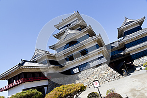 Matsumoto Castle, Japan Royalty Free Stock Photo - Image: 24855235