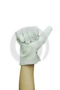 Work Glove Stock Photos - Image: 24856873