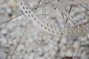 Bike Brake Disk Royalty Free Stock Image - Image: 24866676