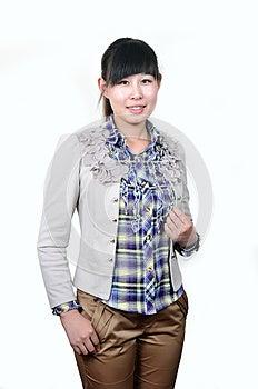 Asian White-collar Woman Royalty Free Stock Photo - Image: 24868885