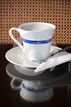 Cup Of Capuchino Stock Image - Image: 24890761