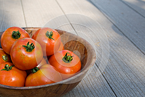 Bowl Of Tomatos Stock Photos - Image: 24897323