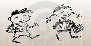 Little Pupils Stock Image - Image: 24898741