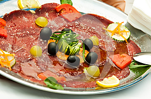 Meat Platter Royalty Free Stock Images - Image: 24899809