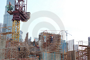 Construction Site2 Royalty Free Stock Photos