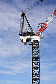 Large Crane Stock Photo - Image: 2499650