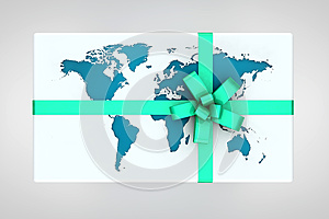Earth Gift Stock Images - Image: 24901264