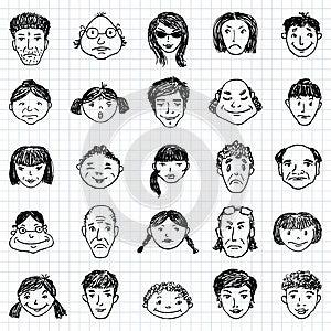 Faces Stock Photos - Image: 24904223