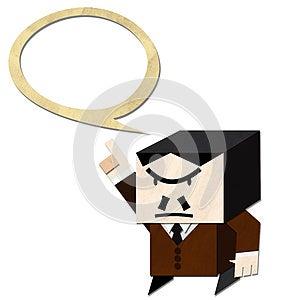 Boss Command Stock Image - Image: 24908561