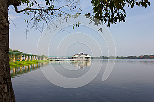 Pavilion On The Water. Stock Image - Image: 24913791