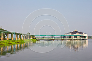 Pavilion On The Water. Stock Photos - Image: 24913853